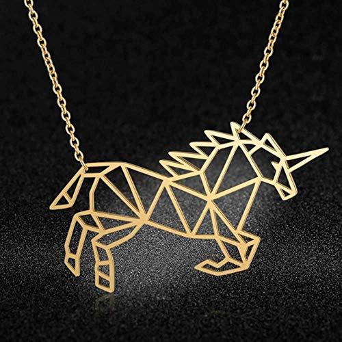 EDCV kettingen roestvrij staal 40cm kettingontwerp Mode dier hanger kettingen Verbazingwekkend ontwerp, goud gevuld