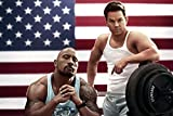 makeuseof Pain and Gain Action Movie Film Poster Print Picture Marky Mark Dwayne Johnson-Art Silk Poster 24x36inch