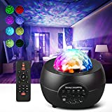 Galaxy Projector Star Night Light Sky Starry for Bedroom Planet Ceiling Kids Adults Baby Room Home with Music Bluetooth Speaker, Remote Control