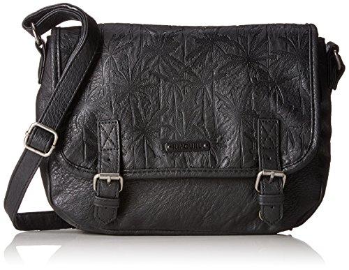 Rip Curl Damen Miami Vibes Shoulder Bag Handgelenkstasche Schwarz (Schwarz)