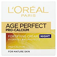 6 x L'Oreal Paris Age Perfect Pro-Calcium Fortifying Cream Night 50ml