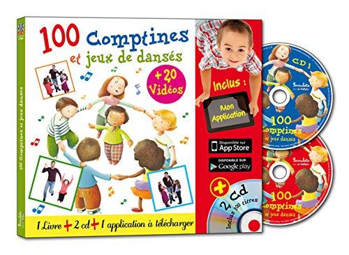 100 comptines et jeux dansés (2CD audio)