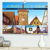 Rothenburg o.d. Tauber (Premium, hochwertiger DIN A2 Wandkalender 2022, Kunstdruck in Hochglanz): Ein Rundgang durch eine mittelalterliche Stadt voller Geschichte und Flair. (Monatskalender, 14 Seiten )