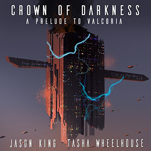 Crown of Darkness audiobook cover art