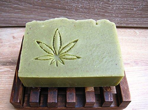 Hemp and Rhassoul Clay Shampoo bar, All Natural Solid Shampoo, Vegan Shampoo bar, Cannabis Soap, Conditioning Shampoo ,Natural Hair Care