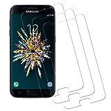 Miuphro [3-Pack] Cristal Templado Compatible con Samsung S7, Protector de Samsung S7, Vidrio Templado con [Anti-Scratch] [Alta Definicion] [Anti-Scratch] [9H Dureza]