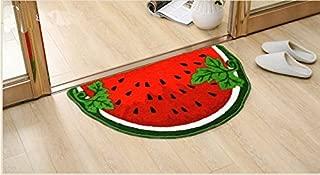 Cute Watermelon Interior Door Mat Carpet Sitting Room Carpet 40cm*60cm