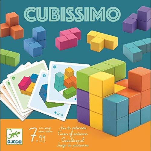 DJECO- Juegos de acción y reflejosJuegos educativosDJECOJuego Cubissimo, Multicolor (15)