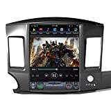 FLYUNICE 12.1 Inch Tesla Style 4GB RAM Android 9.0 Fast Boot Car Stereo Radio GPS Navigation for Mitsubishi Lancer 2007-2013 GPS Navigation Head Unit with Factory Rockford System WiFi Carplay DSP