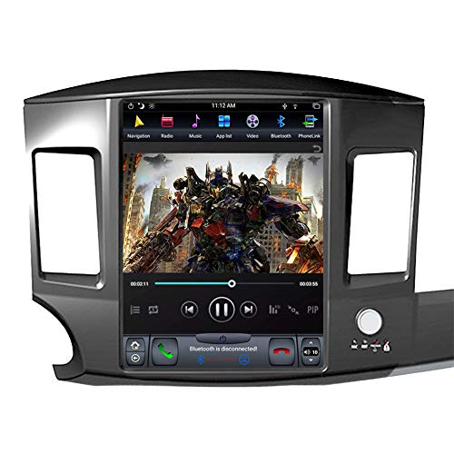 Great Price! FLYUNICE 12.1 Inch Tesla Style 4GB RAM Android 9.0 Fast Boot Car Stereo Radio GPS Navig...