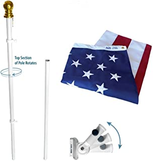 Best us flag and pole set Reviews