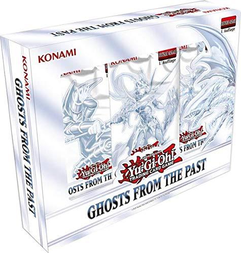 A YuGiOh! Ghosts from The Past Tuckbox   DEUTSCH   Yu-Gi-Oh! Karten NEU   + Arkero-G 100 Small Soft Sleeves japanische Kartenhüllen