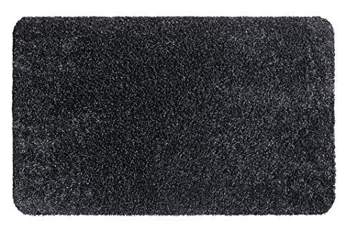 Hamat Tappeto d' Ingresso Aquastop per l' Interno in Cotone e Poliestere Grafite, 60x 100cm