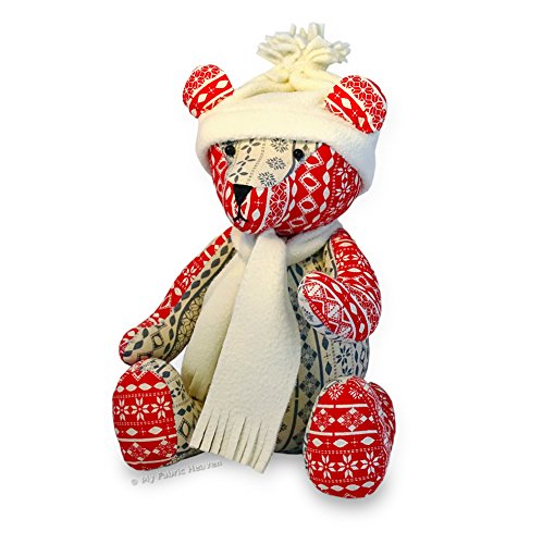 Teddy Eddy Bear /& Harley Patchwork Memory Teddy Bear FREE POST 9 Inch Teddy Memory Bear /& 14 Inch Patchwork Fabric Teddy Bear with Easy Tutorial Style Instructions 2 X Fabric Sewing PATTERNS Independent Design