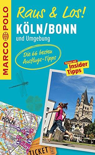 MARCO POLO Raus & Los! Köln, Bonn und Umgebung: Das Package für unterwegs: Der Erlebnisführer mit großer Erlebniskarte
