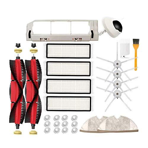 HAOJUE Kits de accesorios para aspiradora S6 S60 S65 S5 MAX T6 Accesorios de barredora Accesorios Cepillo de rollo