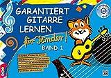 Garantiert Gitarre lernen für Kinder, Band 1 (Buch & CD): Die kinderleichte Gitarrenschule für Kinder