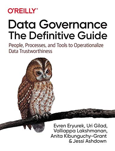 Data Governance: The Definitive Guide: People, Processes, and Tools to Operationalize Data Trustworthiness Front Cover