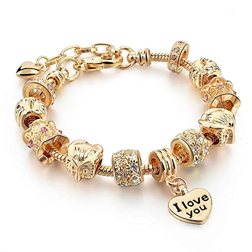 Armband sieraden Merk Sieraden Goudkleurige Armband Voor Vrouwen Vriendschap Armbanden Armbanden Diy Pulsera