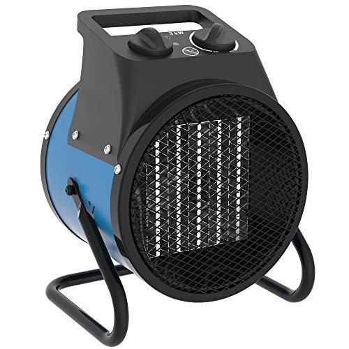 GÜDE GEH 3000P Elektroheizgerät Heizlüfter Elektroheizung 230V 3000 Watt Keramik