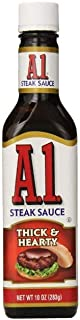 A.1. Sauce 10oz Glass Bottle (Pack of 4) Select Flavor Below (Thick & Hearty)