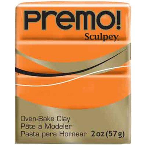 Sculpey Premo ofenhärtende Modelliermasse, Orange, Orange