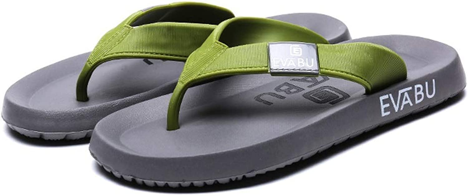 SHOESDQ Slippers Summer Men's Outdoor Sports Sandals Non-Slip Beach shoes Anti-Skid Breathable