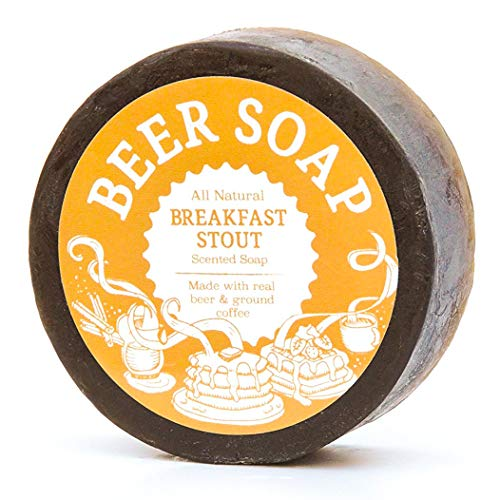 Beer Soap (Breakfast Stout) - All Natural + Made in USA