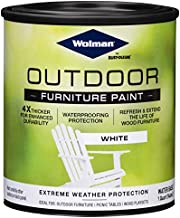 Wolman 360352 Outdoor Furniture Paint, Quart, White