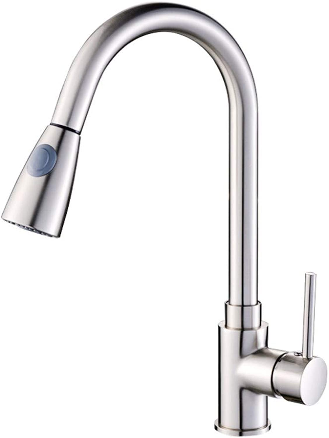 Kitchen Sink Taps Bathroom Taps Kitchen Faucet Wire Drawing Faucet Hot and Cold Faucet Sink Draw Tap.