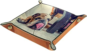 Funny English Bulldog Storage Box Cube Basket Bins Containers for Office Home