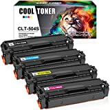 Cool Toner Compatible Toner Cartridge Replacement for Samsung CLT-K504S CLT-504S for Samsung Xpress C1860fw C1810w SL-C1860fw SL-C1810w CLX-4195fw CLP-415nw Printer (Black Cyan Yellow Magenta, 4-Pack)