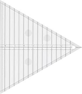 Dreamseeker Triangle Quilting Ruler,60 Degree Equilateral Triangle, 8-inch Quilted Ruler Template