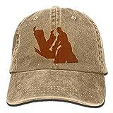 jingqi Gorra de béisbol Unisex Sombrero Aikido Algodón Denim Dad Hat para Hombres