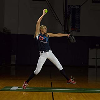 ProMounds, Inc Jennie Finch Pitching Mat with Power Line