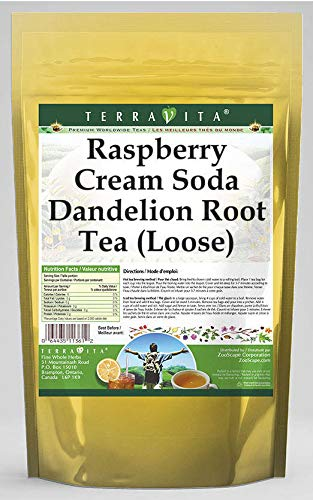 Raspberry Year-end gift Cream A surprise price is realized Soda Dandelion Root Tea Loose oz 4 5618 ZIN: