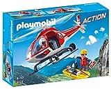 Playmobil Action Helicoptero de Rescate de Montaña