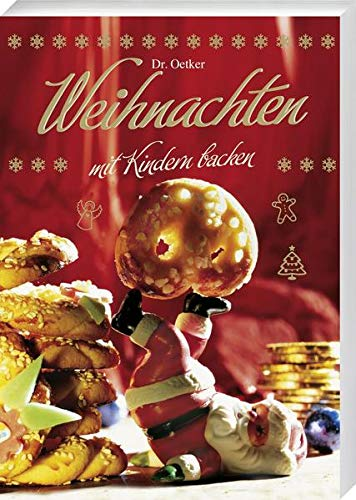 Weihnachtsdose mit Buch - Weihnachten mit Kindern Backen