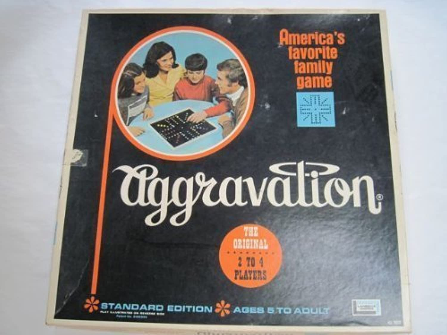 Aggravation 1970 Standard Edition by Lakeside Games