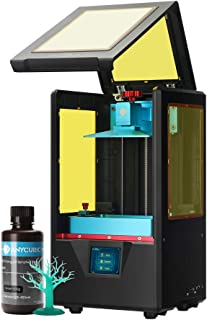 "ANYCUBIC Photon S 3D Printer, UV LCD Resin Printer with Dual Z-axis Linear Rail and Double Air Filtration System & Print Quietly and Off-line Printing, Build Size 4.53""(L) x 2.56""(W) x 6.49""(H), Black"