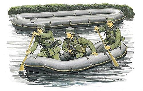 ドラゴン 1/35 第二次世界大戦 ドイツ軍 突撃工兵フィギュアwithゴムボート プラモデル DR6076