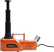 EAMBRITE 12V DC Heavy Duty 4.5 Ton(9900lb) Hydraulic Floor Jack with LED Light