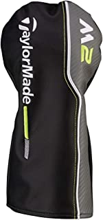 TaylorMade New 2017 M2 Black/Gray/Lime Green Leather Driver Headcover