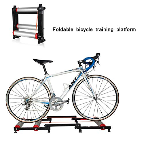 XFY Bike Trainer-Stand, indoor-fietstrainer, opvouwbaar, weerstand, voor indoor outdoor training