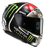 HJC Helmets 2334_25157 Casco de Moto RPHA 11 Jonas Folger, Hombre, Negro y Rojo, Extra-Large