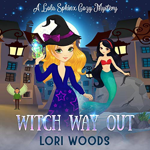 Witch Way Out audiobook cover art