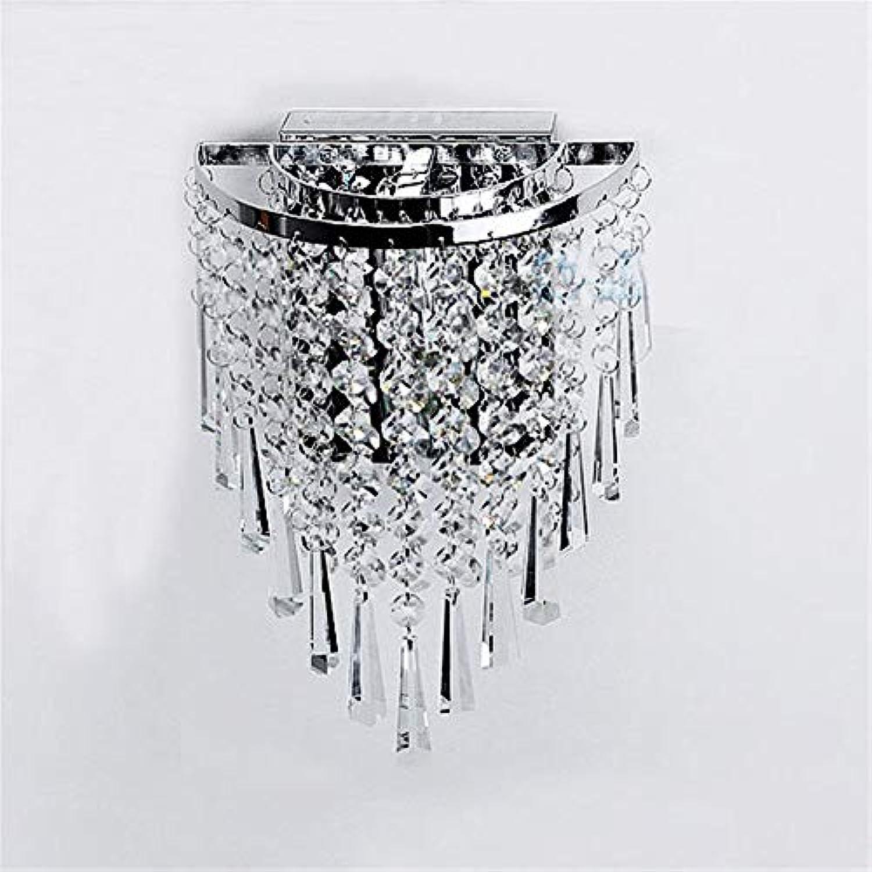 Moderne LED Kristall Lustre Luminarias LED-Lampen für Gang Gang Flur Balkon 110-220 V E14 LED Wandleuchten