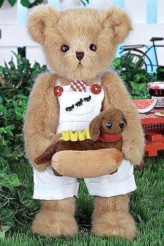 Bearington Bears Harvey & Hot Doggie by Bearington Bears
