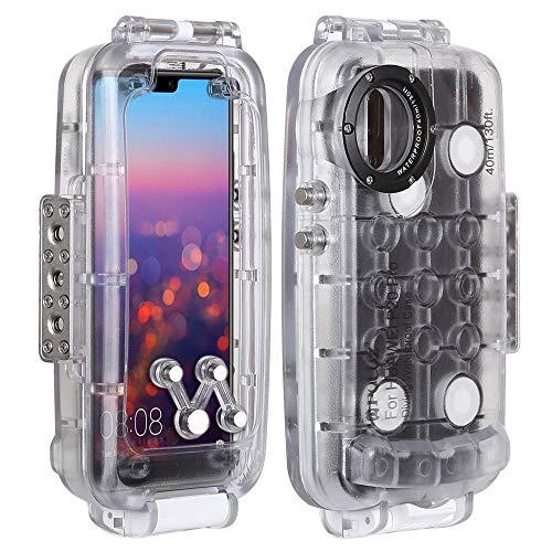 XYAL-Cases Xingyue Aile Tablets Hüllen Für Huawei P20 / P20 Pro, 40m / 130ft wasserdichtes Gehäuse Foto Video Unterwasser Schnorchel Abdeckung Tauchen Fall Für Huawei 20 Mate/Mate-20 Pro