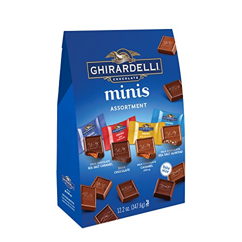 Ghirardelli Assorted Mini Squares Pouch 122 Ounce XLarge
